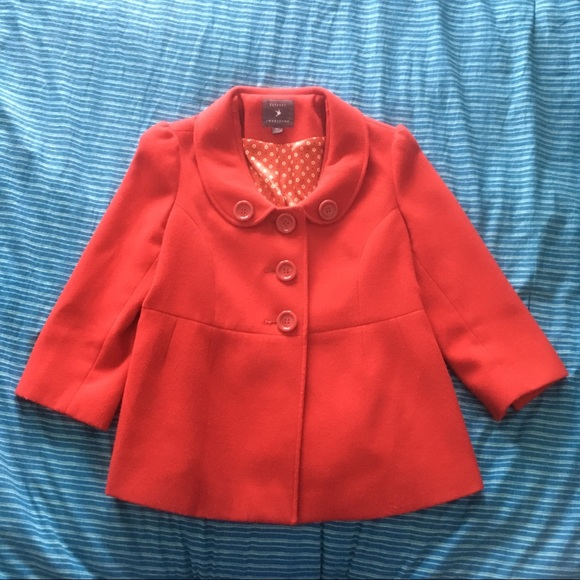 Forever 21 Jackets & Blazers - Red Dress Jacket Forever 21